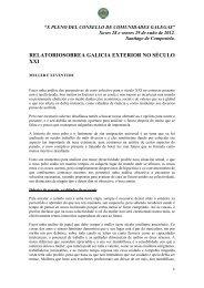 A Galicia exterior no século XXI - Secretaría Xeral da Emigración ...