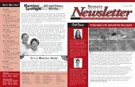 newsletter May 2005 v5 - Genesys Athletic Club
