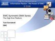 EMC Symmetrix DMX Series - Ortra