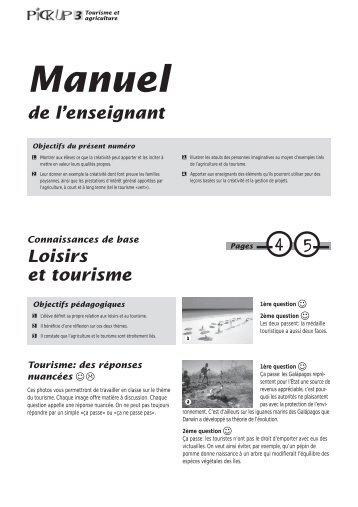 3 Tourisme et - Nomad Systems