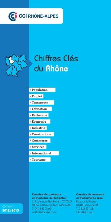 Chiffres Clés du Rhône - CCI Lyon