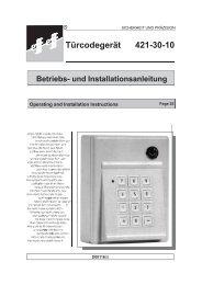 Türcodegerät 421-30-10 - Ikon