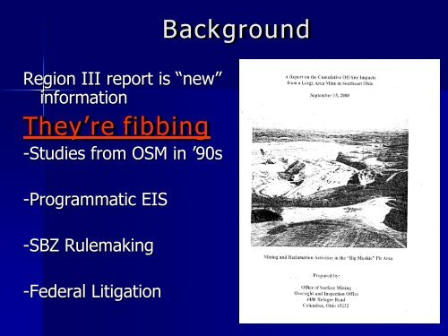 Mine Permitting & Regulatory Update - West Virginia Department of ...