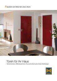 """""""Türen für Ihr Haus"""" (2 MB, pdf)"""