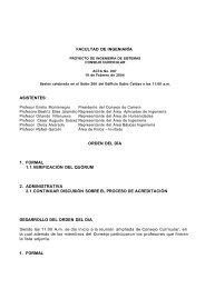 FACULTAD DE INGENIARÍA - Facultad de Ingenieria