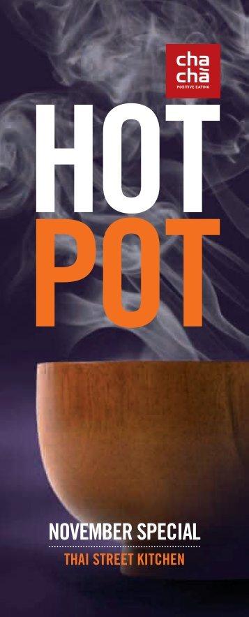Kokosnuss Hot Pot  8,90