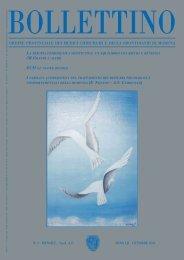Ottobre 2003 (pdf - 838 KB) - Ordine Provinciale dei Medici ...