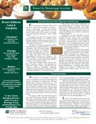 PDF 860KB - Brown Gibbons Lang & Company