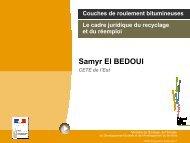 Contexte normatif du recyclage - CoTITA