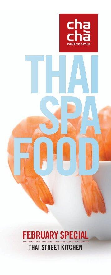Thai Spa Food