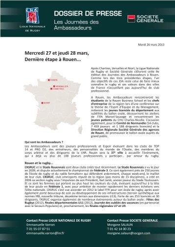 Communiqué de presse relatif aux journées des Ambassadeurs de ...