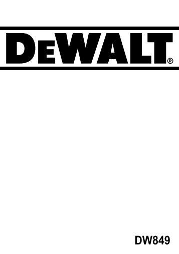 E - Service - DeWALT