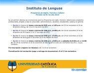 Instituto de Lenguas - Universidad Catolica de Colombia