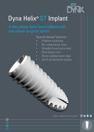 Dyna Helix® ST Implant - Dyna Dental