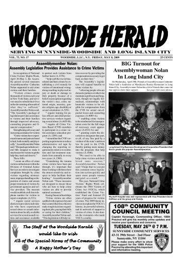 WOODSIDE 5 /8 - Woodside Herald