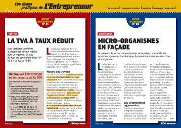 pratiques de L'Entrepreneur - Consulter en ligne