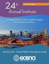 Annual Institute - EASNA