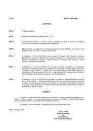 Igiene, chimica e tecnologie degli alimenti - Università degli Studi di ...