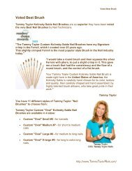 Voted Best Brush - Tammy Taylor Nails