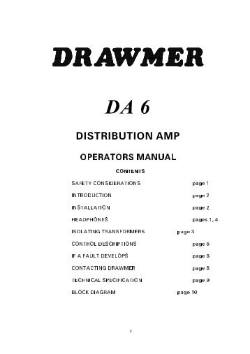 DRAWMER - UM - DA6.pdf - AVC Group