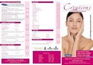 MILTON PARK 01235 831200 - Creations • Hair and Beauty