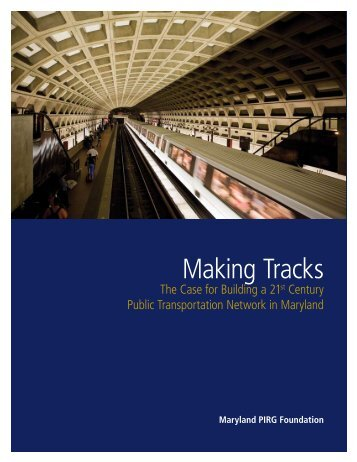Download MD-Making-Tracks.pdf - Frontier Group