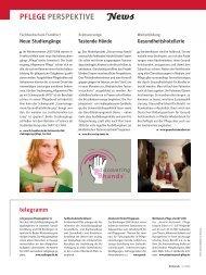 PFLEGE PERSPEKTIVE News - Heilberufe