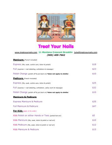 Treat Your Nails