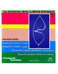 the orchestral music