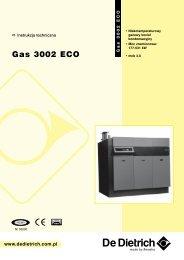 Instrukcja Techniczna GAS 3002 ECO - De Dietrich
