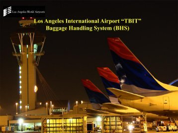 """TBIT"" Baggage Handling - Los Angeles World Airports"