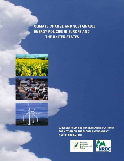 Climate Change and Sustainable Energy Policies in Europe and the ...