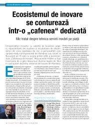 """Ecosistemul de inovare se conturează într-o """"cafenea ... - uefiscdi"""