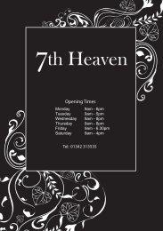 th Heaven - 7th Heaven Beauty Salon East Grinstead