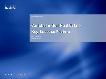 Caribbean Golf Real Estate Key Success Factors Caribbean Golf ...