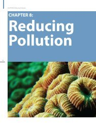 Chapter 8: Reducing Pollution - NOAA Coral Reef Information System