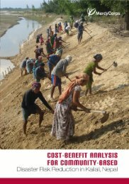 A Cost-Benefit Analysis of Community-Based Disaster Risk ...