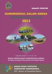 Gunungkidul Dalam Angka 2012