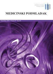 Волуме 57, број 2-3 - Medicinski fakultet - Univerzitet u Beogradu