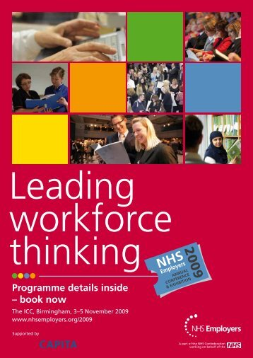 conference brochure - NHS Employers