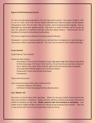 Beginner Gel Nail Enhancement Course - Scratch My Back Nail Studio