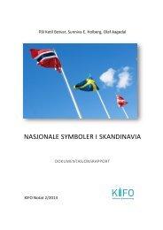 Nasjonale symboler i Skandinavia - Stiftelsen Kirkeforskning KIFO