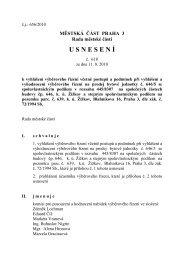 Usnesení rady MČ č. 618 ze dne 11.8. 2010 - Praha 3