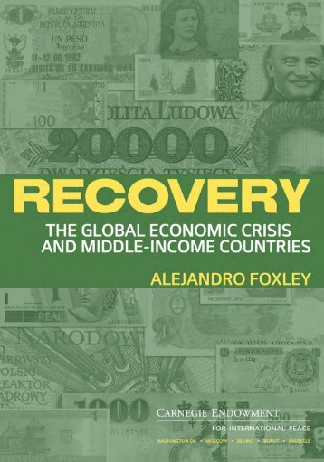 Recovery: The Global Financial Crisis and Middle-Income Countries