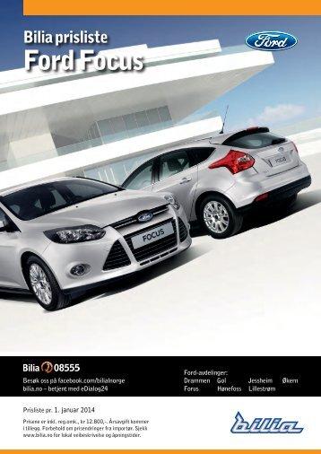 Ford Focus - Bilia