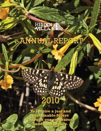 ANNUAL REPORT - Hidden Villa