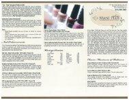 Brochure - Mani Pedi Nail Spa