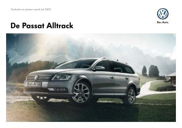 Prijslijst Volkswagen Passat Alltrack per 01-07-2012.pdf - Fleetwise