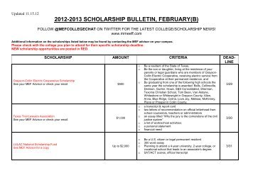 Scholarship Bulletin 5