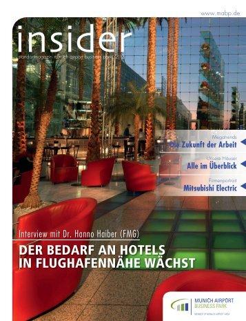 insider 02/2012 - Munich Airport Business Park